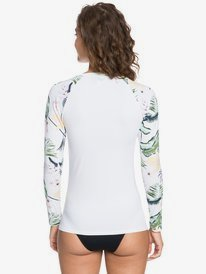 ROXY Bloom - Long Sleeve UPF 50 Zipped Rash Vest for Women  ERJWR03497