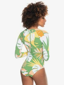 Wild Flowers - Long Sleeve UPF 50 One-Piece Swimsuit for Women  ERJWR03511