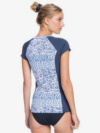 Sunset Boogie - Short Sleeve UPF 50 Rash Vest for Women  ERJWR03515