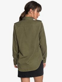 Military Influence - Long Sleeve Shirt for Women  ERJWT03241