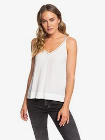 ROXY WOMENS SURF FASHION MUSCLE OPEN SIDE BURNOUT TANK