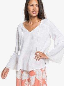All In Time - Oversized Long Sleeve Blouse for Women  ERJWT03379