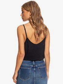 Become The One - Strappy Buttoned Crop Top for Women  ERJWT03423