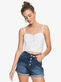 Spring Night Light - Strappy Crop Top for Women  ERJWT03430