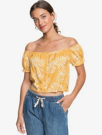 Midnight Magic - Short Sleeve Prairie Top for Women  ERJWT03433