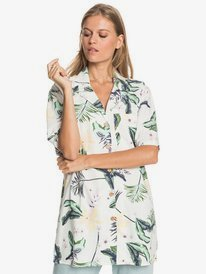 Caravan Of Sun - Oversize Short Sleeve Shirt for Women  ERJWT03471