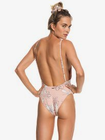 H And K - High Leg One-Piece Swimsuit for Women  ERJX103149