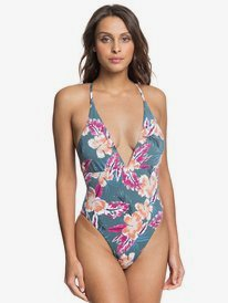 Printed Beach Classics - One-Piece Swimsuit for Women  ERJX103252