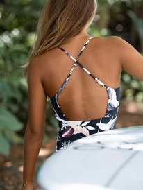 Printed Beach Classics - One-Piece Swimsuit for Women  ERJX103326
