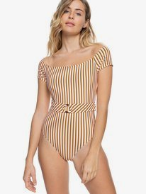 Printed Beach Classics - One-Piece Swimsuit for Women  ERJX103365