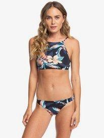 Printed Beach Classics - Crop Top Bikini Set  ERJX203373