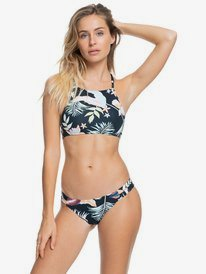 Printed Beach Classics - Crop Top Bikini Set for Women  ERJX203431