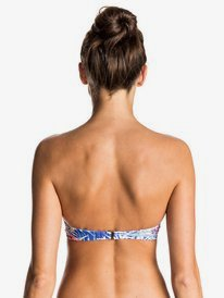 Mix Blossom - Moulded Bandeau Bikini Top  ERJX303330