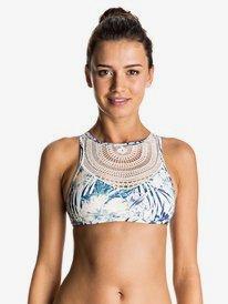 Sea Lovers - Crop Top Crochet Bikini Top  ERJX303333