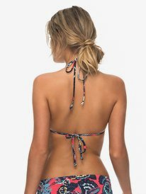 Salty ROXY - Tiki Tri Bikini Top for Women  ERJX303602