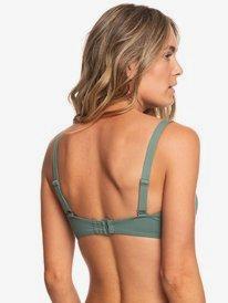 Garden Summers - D-Cup Moulded Bandeau Bikini Top for Women  ERJX303890