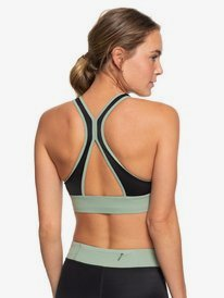 ROXY Fitness - Crop Top Bikini Top for Women  ERJX303976
