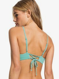Beach Classics - Athletic Triangle Bikini Top for Women  ERJX304065