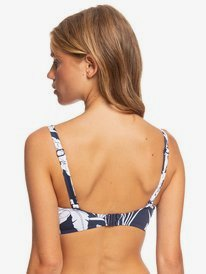 Printed Beach Classics - D-Cup Underwired Bra Bikini Top  ERJX304079