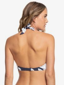 Printed Beach Classics - Halter Bikini Top  ERJX304080