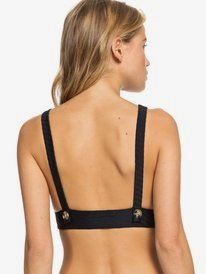 Golden Breeze - Elongated Triangle Bikini Top  ERJX304101