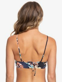 Printed Beach Classics - Crop Top Bikini Top  ERJX304148