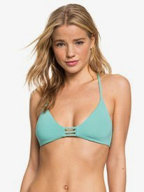 Beach Classics - Fixed Triangle Bikini Top for Women  ERJX304152
