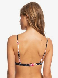 Printed Beach Classics - Fixed Triangle Bikini Top for Women  ERJX304159