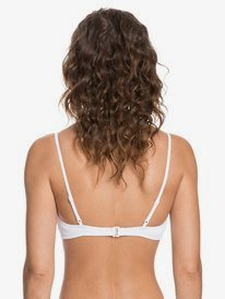 Stay Golden - Fixed Triangle Bikini Top for Women  ERJX304175