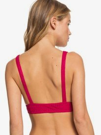 Sweet Wildness - Elongated Triangle Bikini Top  ERJX304198