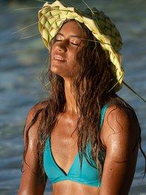 Beach Classics - Elongated Tri Bikini Top for Women  ERJX304208