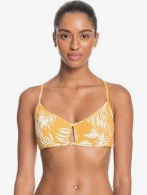 Printed Beach Classics - D-Cup Bralette Bikini Top for Women  ERJX304220