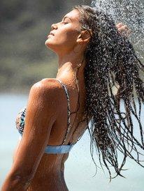 Marine Bloom - D Tri Bikini Top for Women  ERJX304334