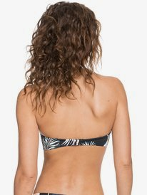 Printed Beach Classics - Moulded Bandeau Bikini Top for Women  ERJX304341