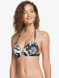 Printed Beach Classics - Moulded Tri Bikini Top for Women  ERJX304348