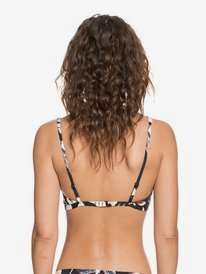 Printed Beach Classics - Elongated Tri Bikini Top for Women  ERJX304356