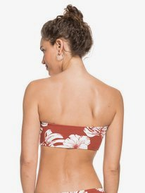 Garden Trip - Bandeau Bikini Top for Women  ERJX304381