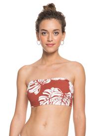Garden Trip - Bandeau Bikini Top for Women  ERJX304381