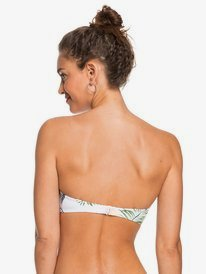 ROXY Bloom - Moulded Bandeau Bikini Top for Women  ERJX304400