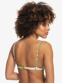 Wildflowers - Reversible Tiki Tri Bikini Top for Women  ERJX304423