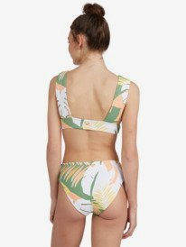 Wildflowers - Reverisble Elongated Tri Bikini Top for Women  ERJX304424