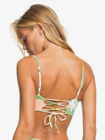 Wildflowers - Reverisble Bandeau Bikini Top for Women  ERJX304425