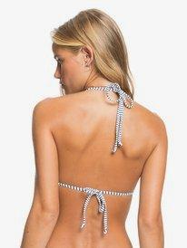 Printed Beach Classics - Tiki Tri Bikini Top for Women  ERJX304430