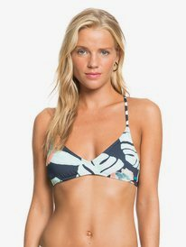 Printed Beach Classics - Athletic Bikini Top for Women  ERJX304432