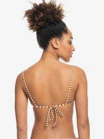 Printed Beach Classics - Bandeau Bikini Top for Women  ERJX304435