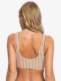 Printed Beach Classics - Athletic Bikini Top for Women  ERJX304463