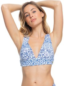 Sunset Boogie - Elongated Tri Bikini Top for Women  ERJX304523