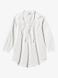 Lonely For You - Oversized Shirt Beach Dress for Women  ERJX603132