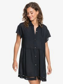 Beauty Truth - Short Sleeve Shirt Dress for Women  ERJX603204