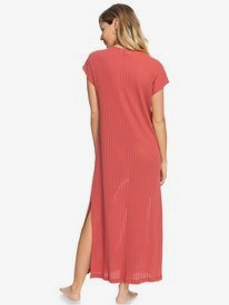 Summer Pink Wave - Beach Dress for Women  ERJX603226